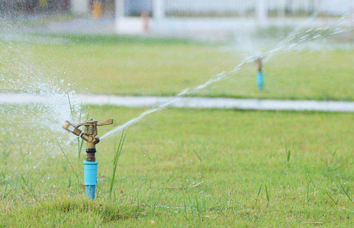 喷灌设备运行实例