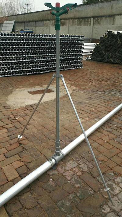 支架立杆安装