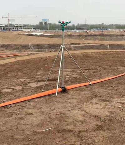 农田喷灌设备搭设案例