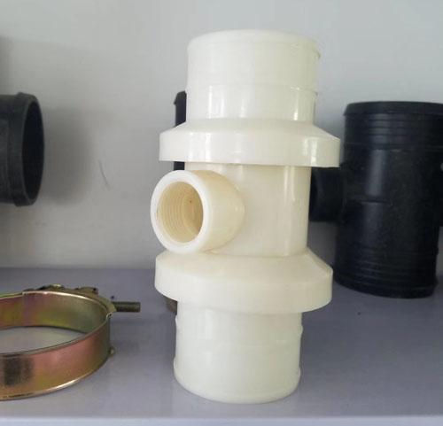 喷灌配件-变径塑料三通